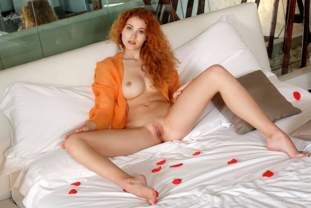 That Redhead with bare feet and
