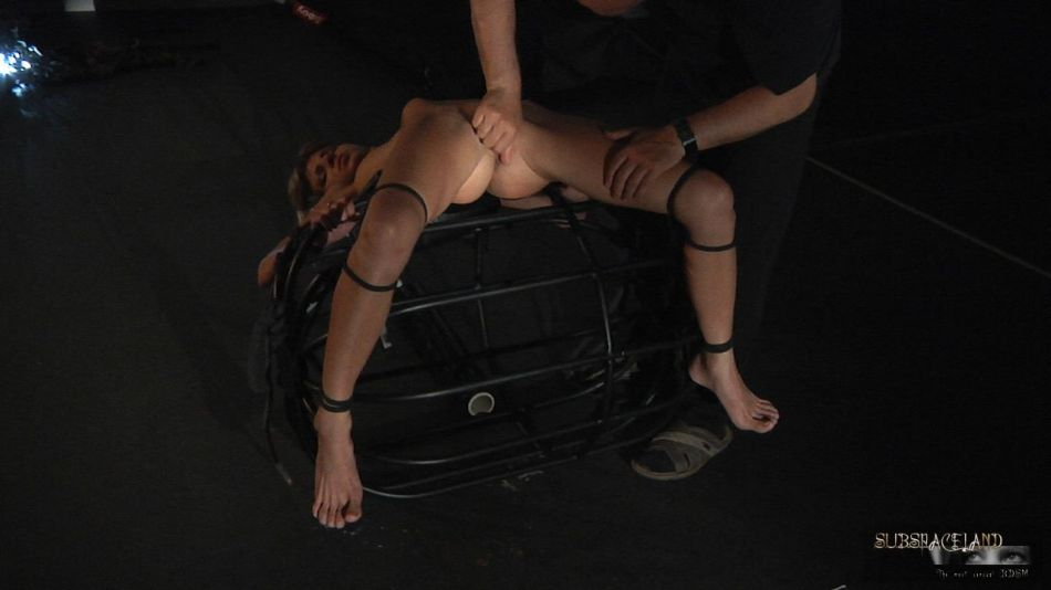About will Skinny blonde bondage torture