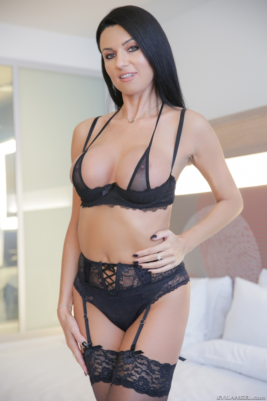 Milf black lace