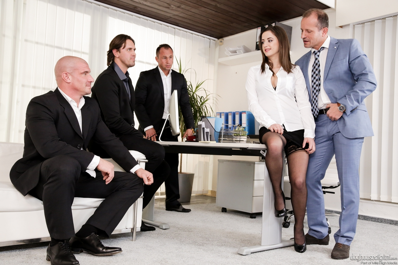 Pantyhose Sex The Office