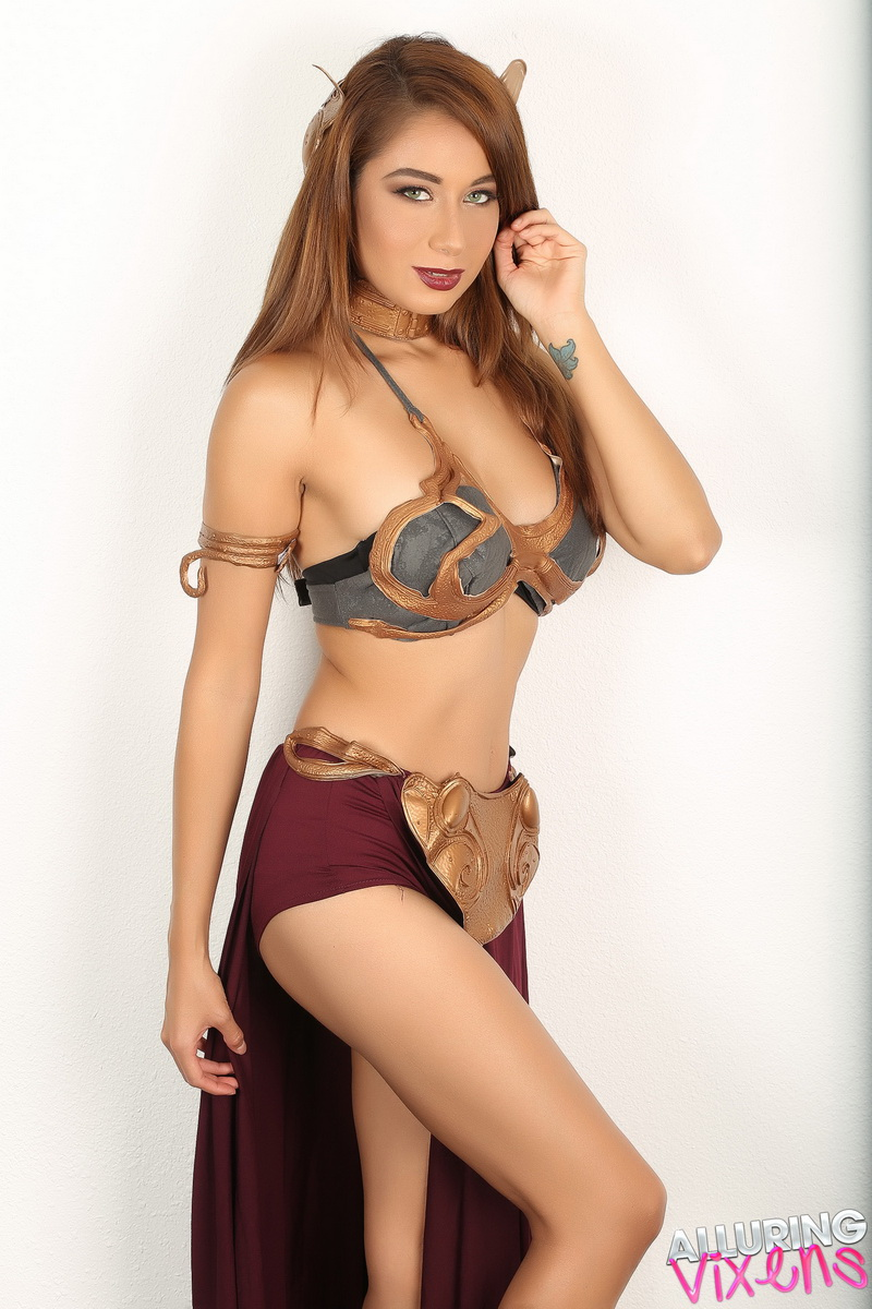 from Ean big tit slave leia