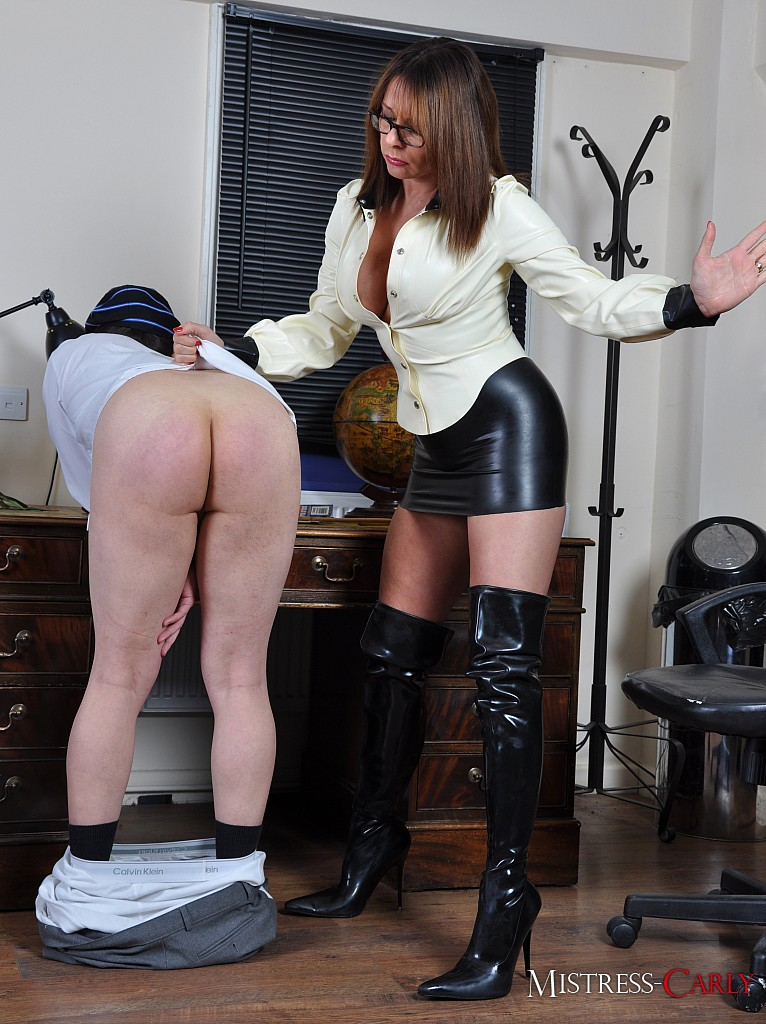 Spanking fetish wear