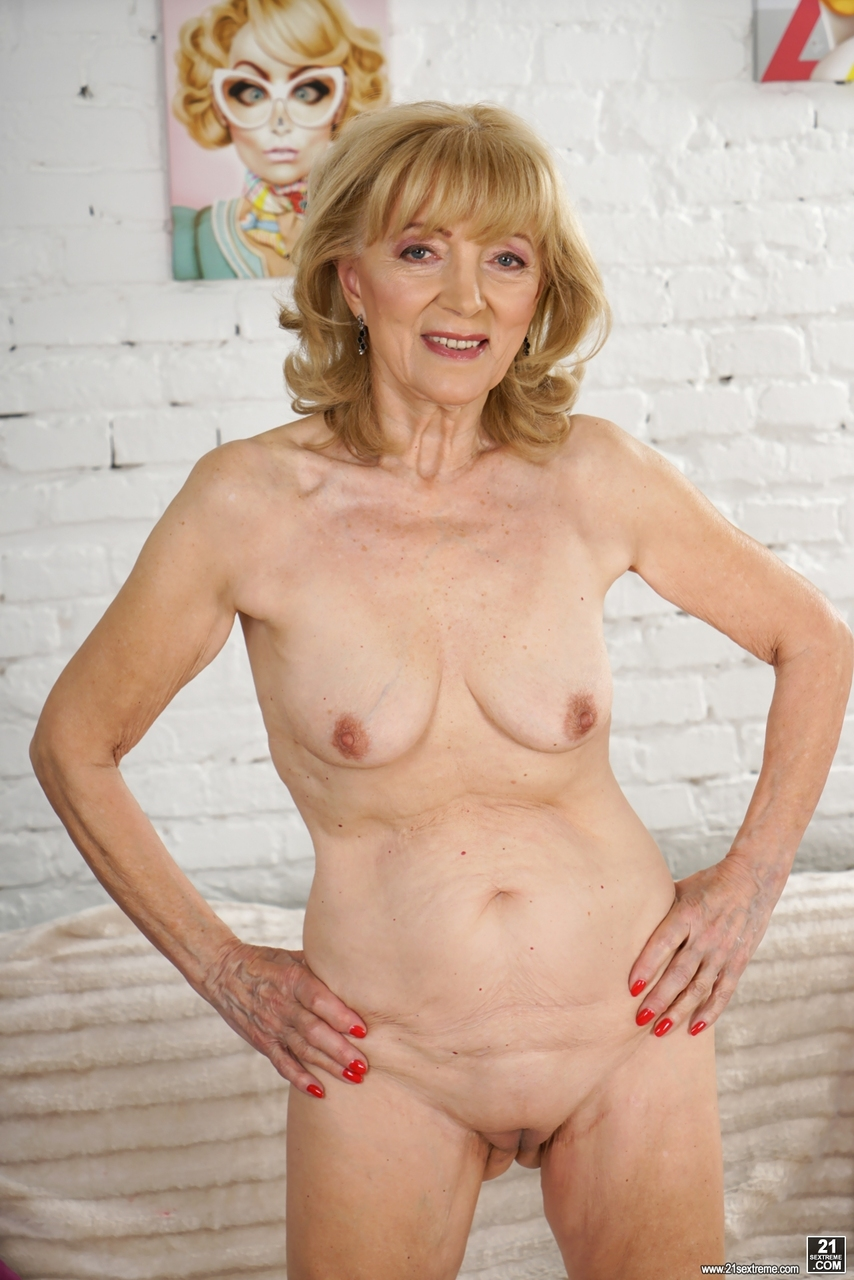 mature wife naked on harley