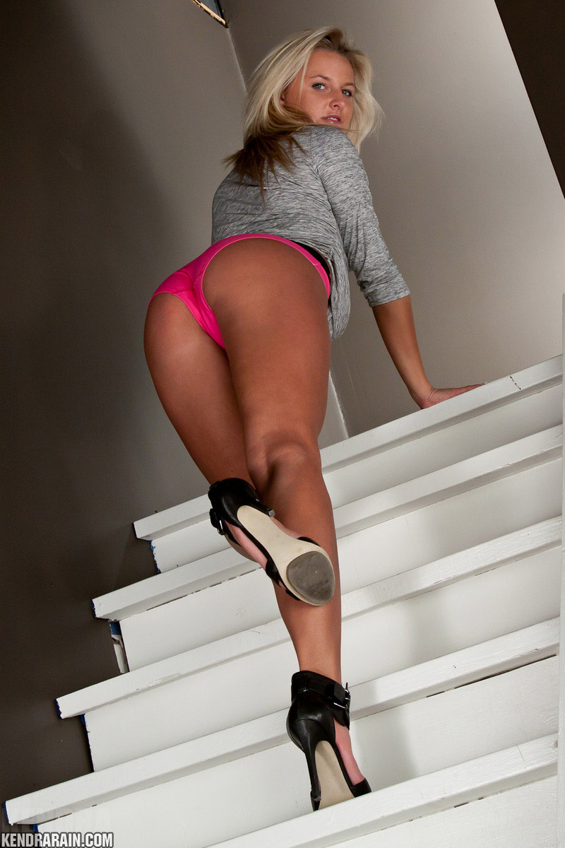 Milf down stairs