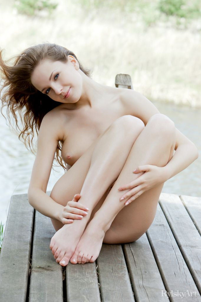 Euro model Ilze wears a smile on pretty face during nude posing on dock photo porno #317766941   Rylsky Art, Ilze, Ass, Babe, Close Up, European, Face, Foot Fetish, Hairy, Legs, Nipples, Outdoor, Tiny Tits, porno mobile