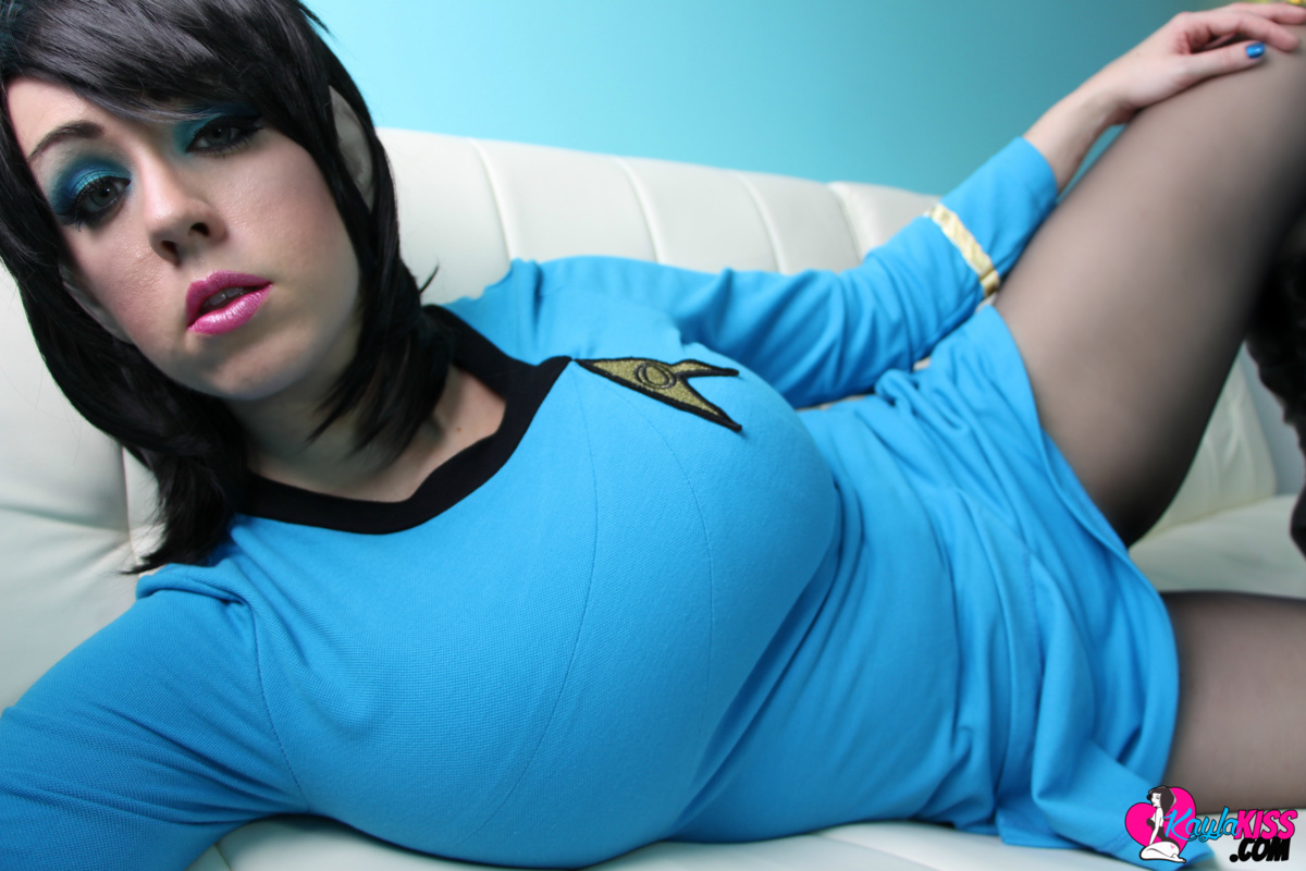 big tit star trek