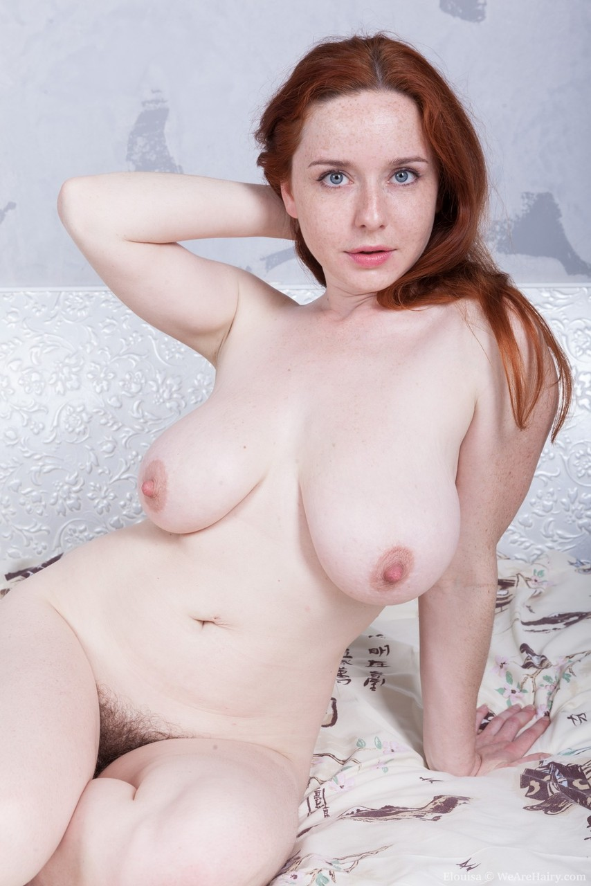 Thick big tit pale hairy redhead michelle gets dicked - 4 9