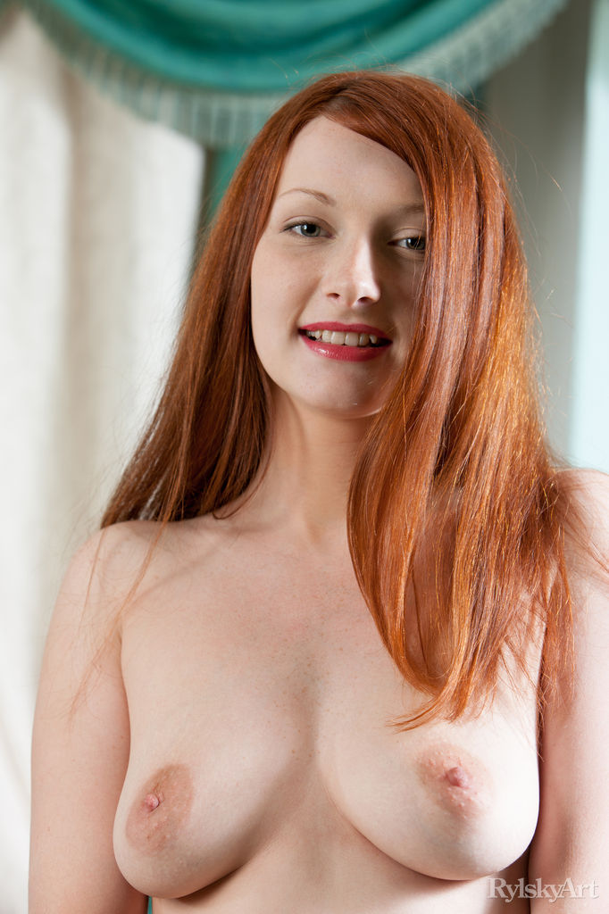 Big puffy nipples sex redhead
