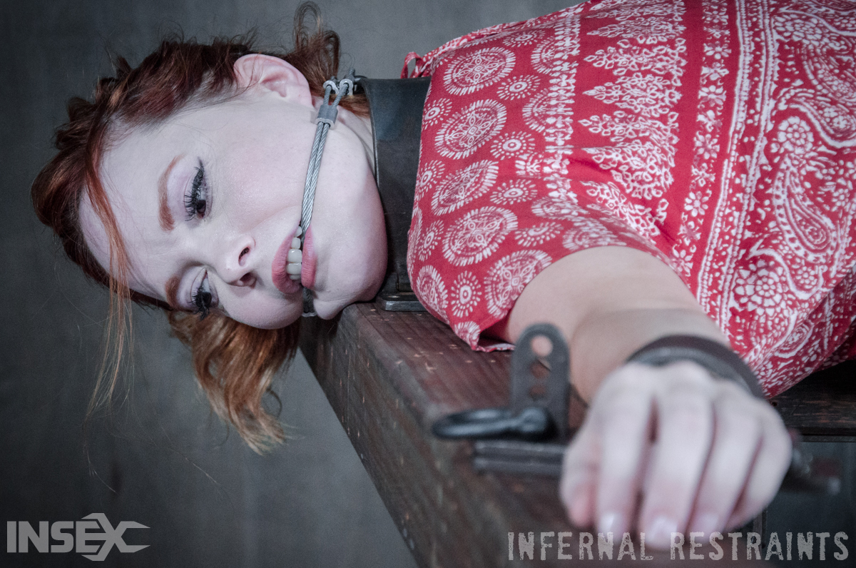 Restrained Redhead 98