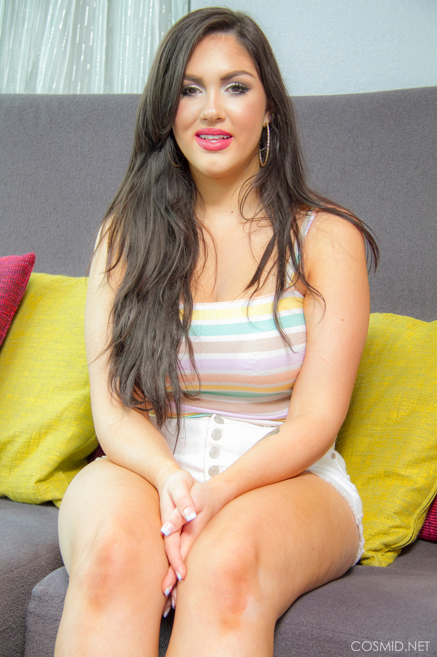 mature chubby milena shore strips to reveal her big breasts and fat