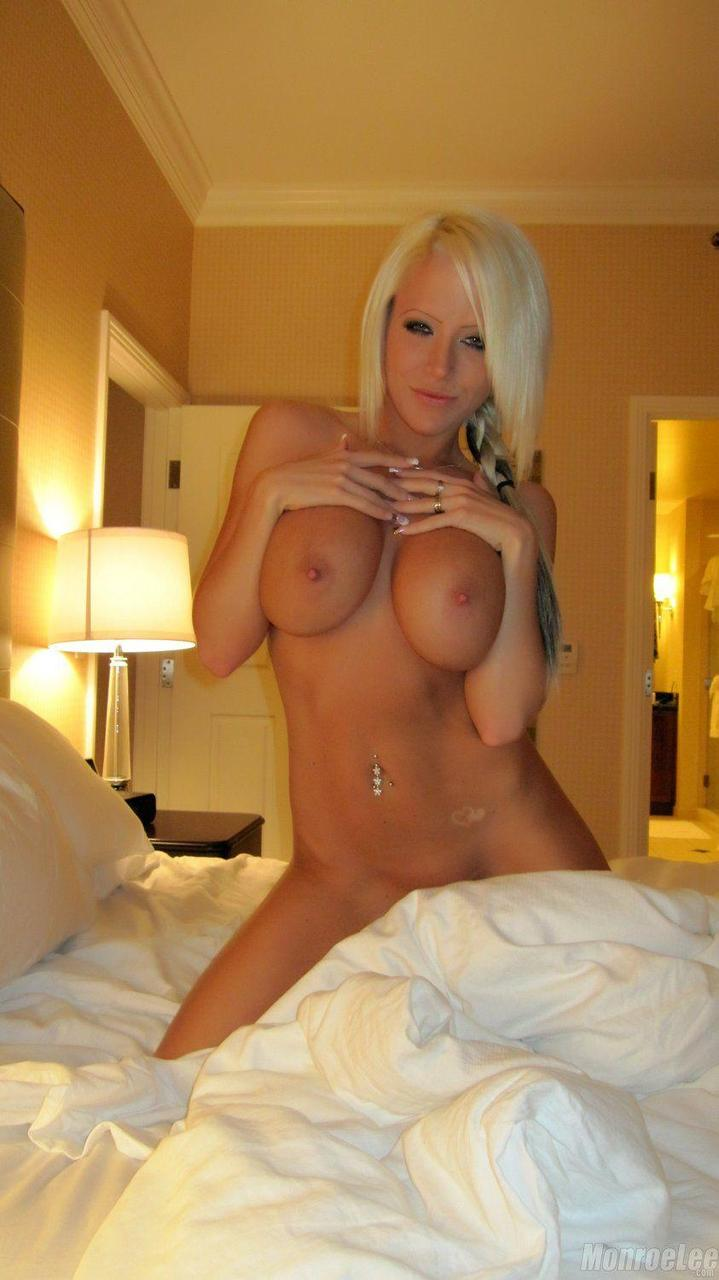 Hot blonde get naked