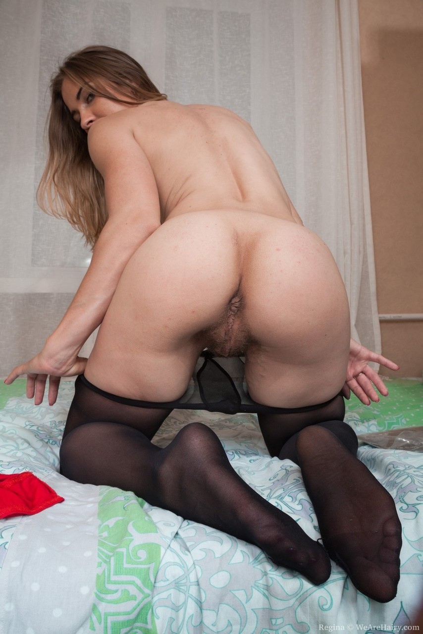 Above Ass hairy pussy tight