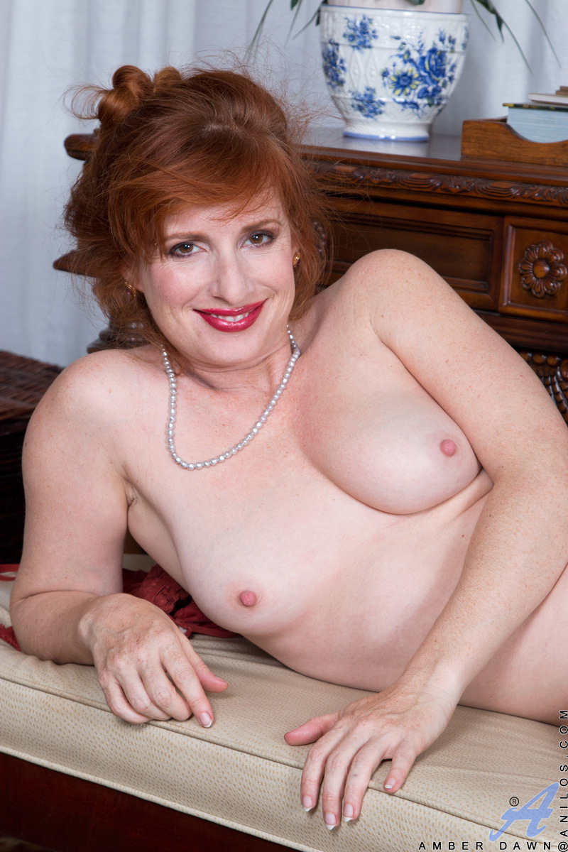 Amber Dawn Nude hot redhead housewife amber dawn drains her wineglass before