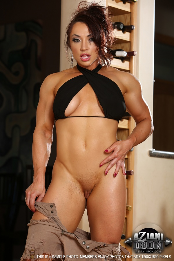 japanese muscle girl nude
