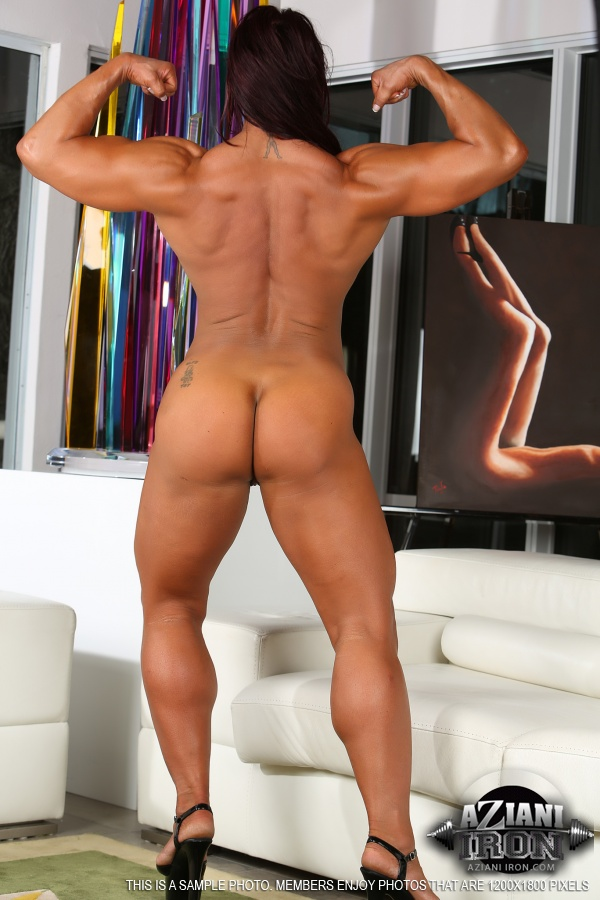 Female bodybuilder ass