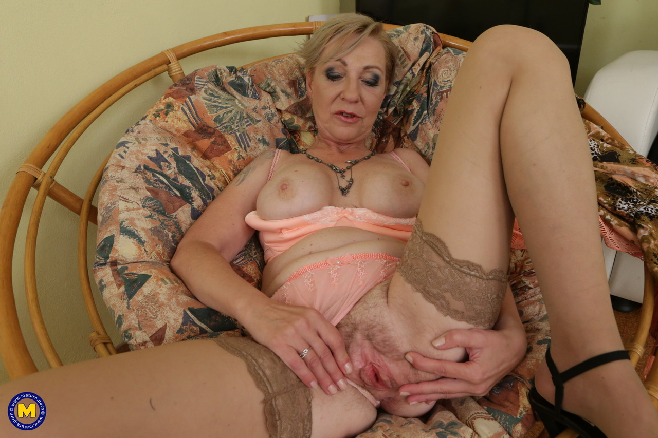 Granny spreads hairy pussy confirm. All