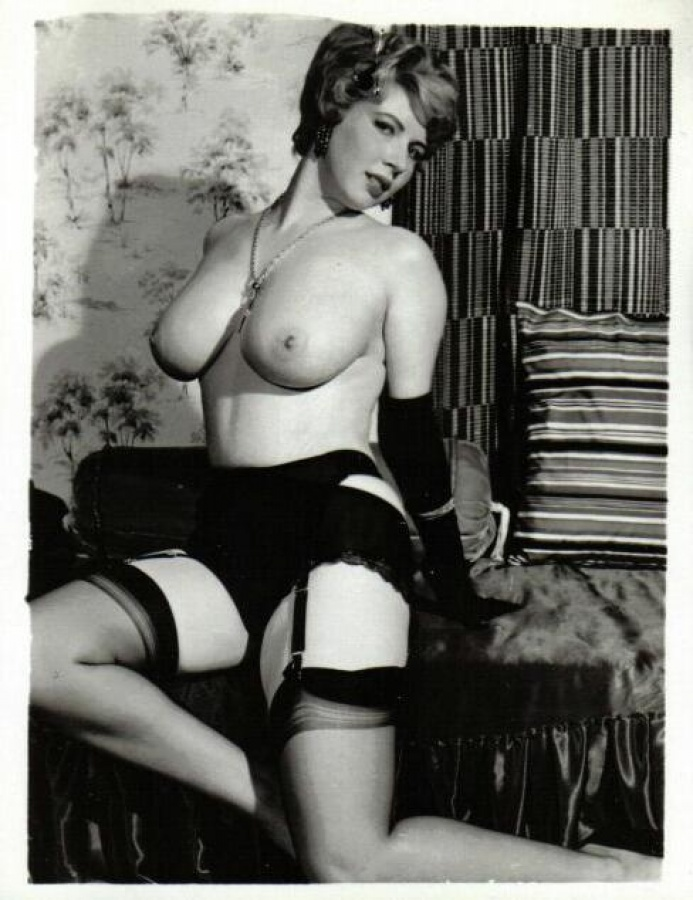 Nylon tease vintage stocking