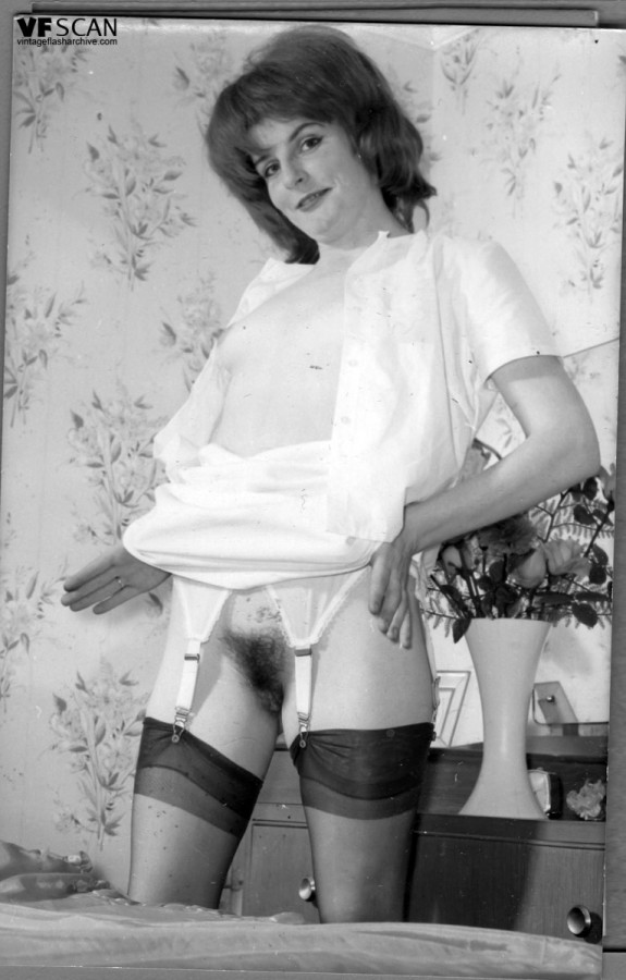 Vintage stockings and panties