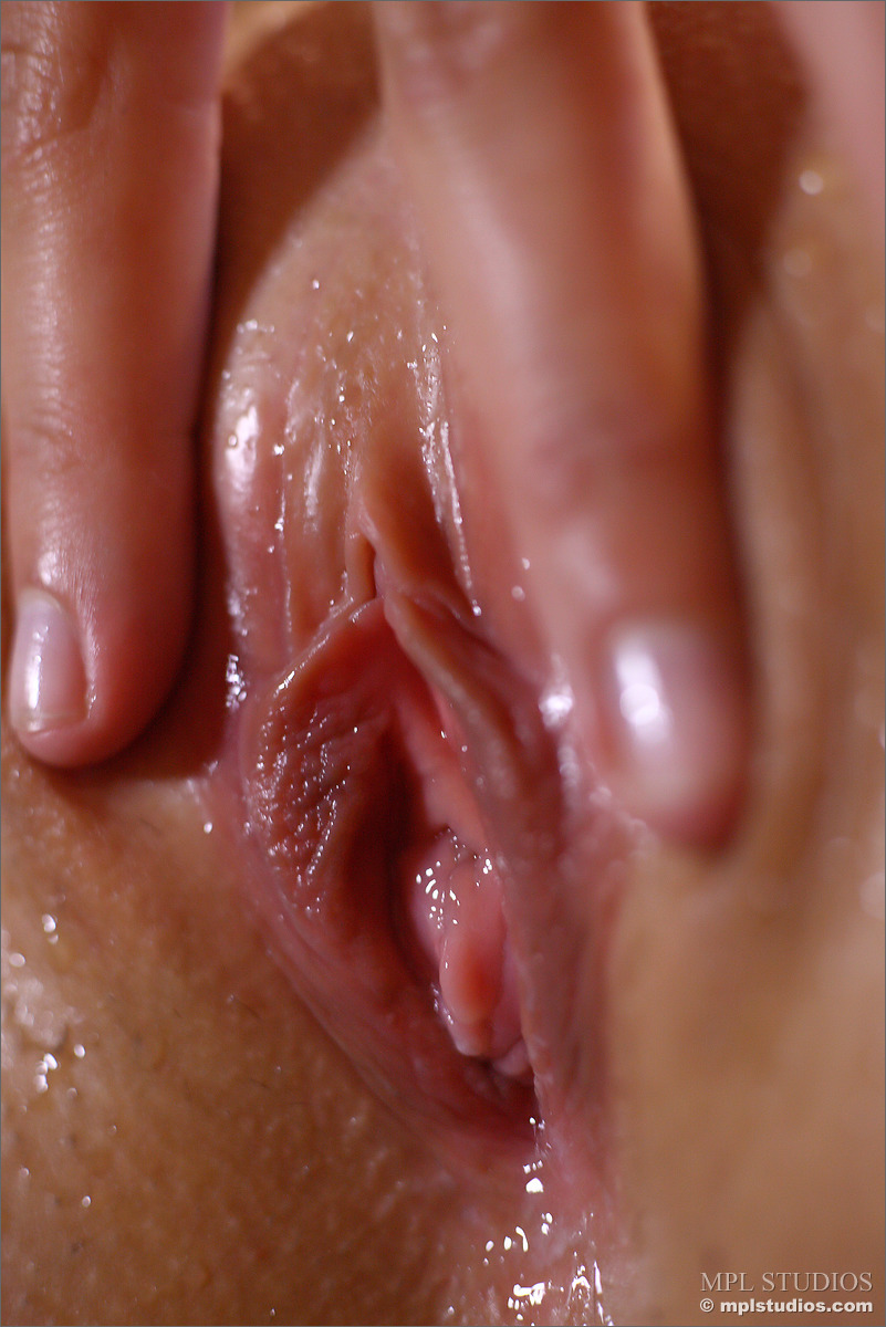 Close up pussy wet