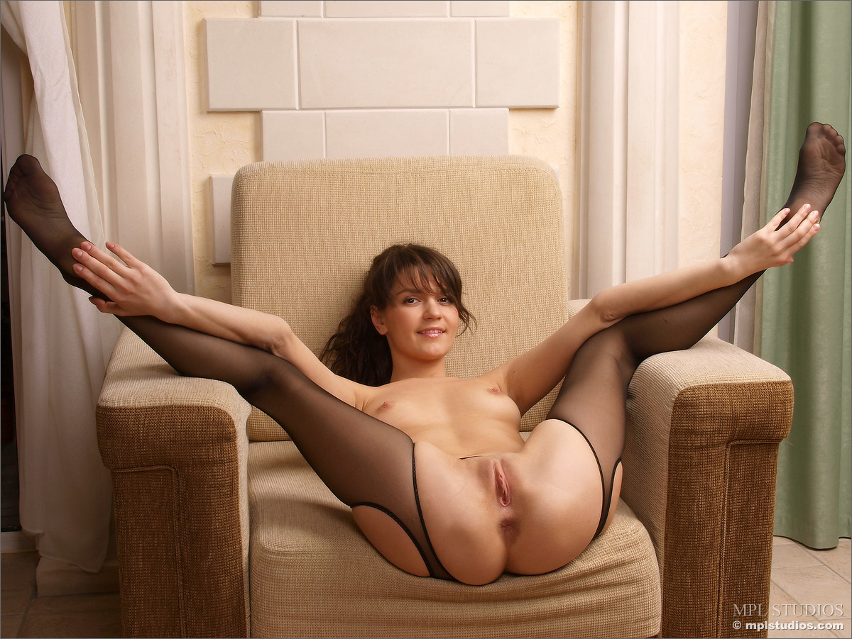 Apologise, but, with her pantyhose pussy consider