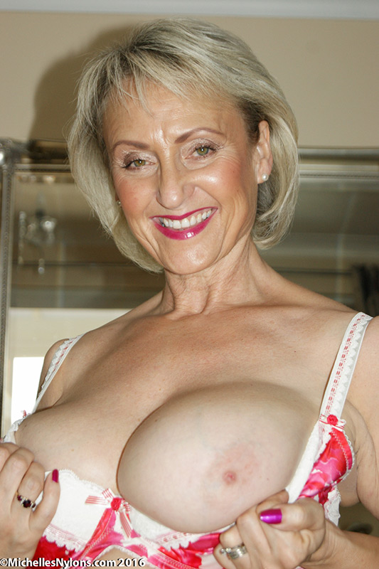 Lovely big mature tits