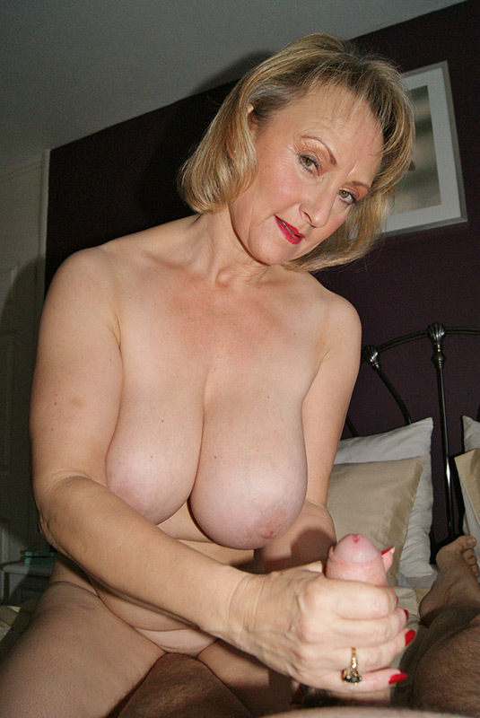 Milf gives handjob and talks about sex with lover - 3 part 5