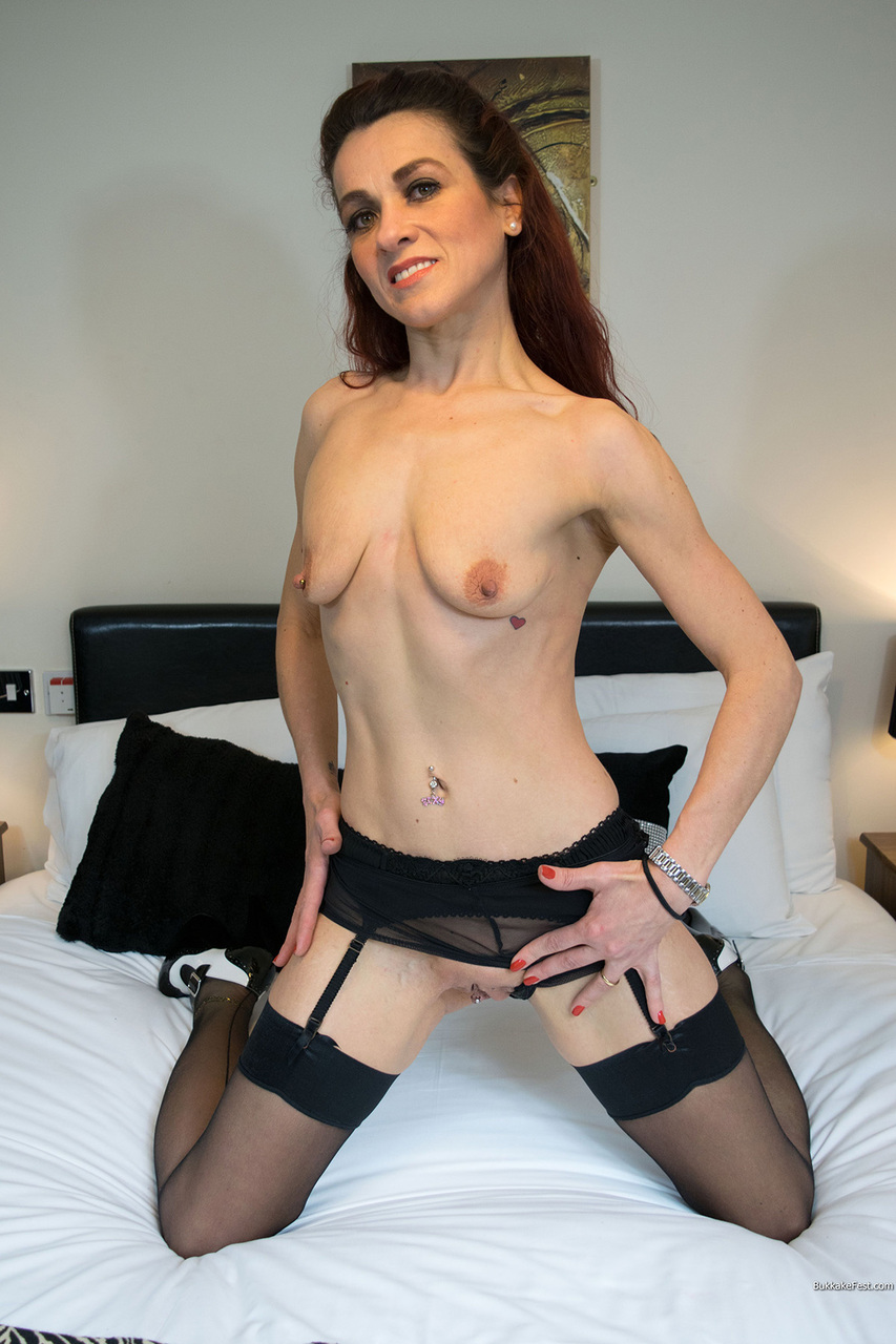 Sexy girls naked in nylons