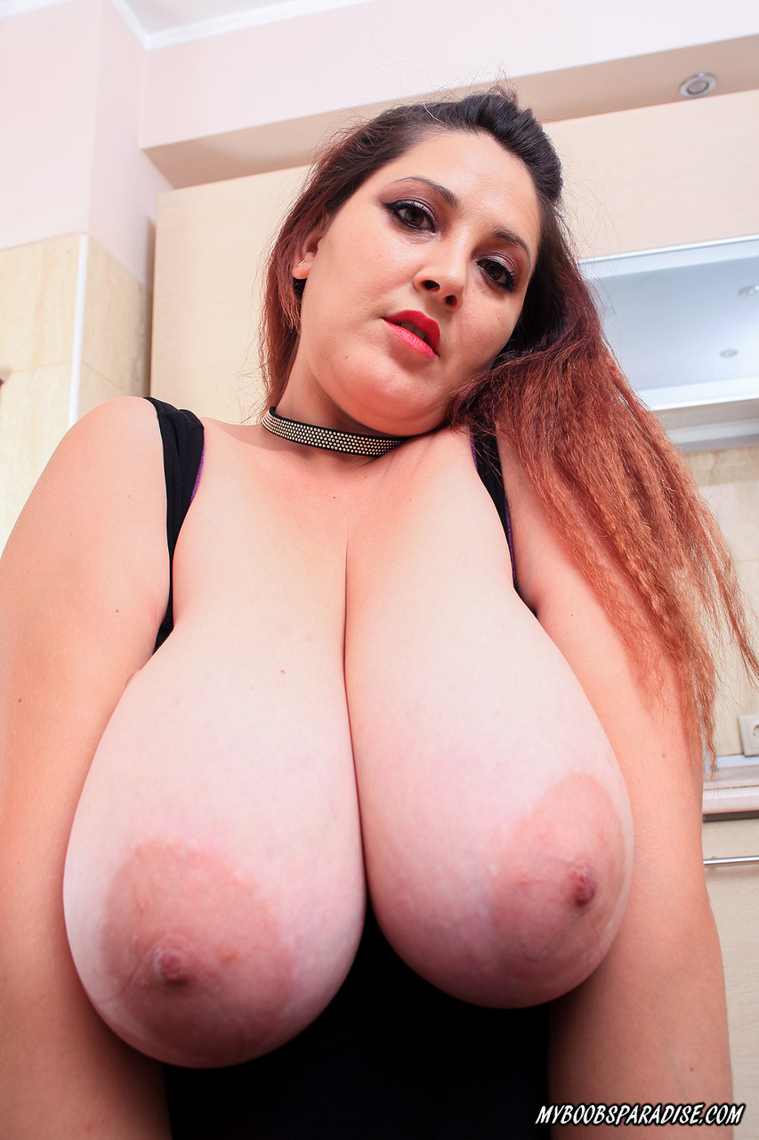 from Juelz humongous tits getting licked by a redhead