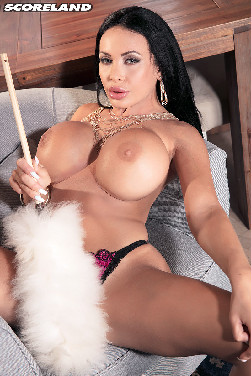 Anastasia Doll Naked erotic big titted anastasia doll poses topless to flaunt her