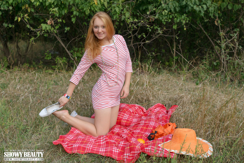 Red hair babe nude russian join