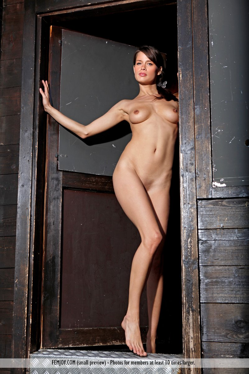 Naked on a dare