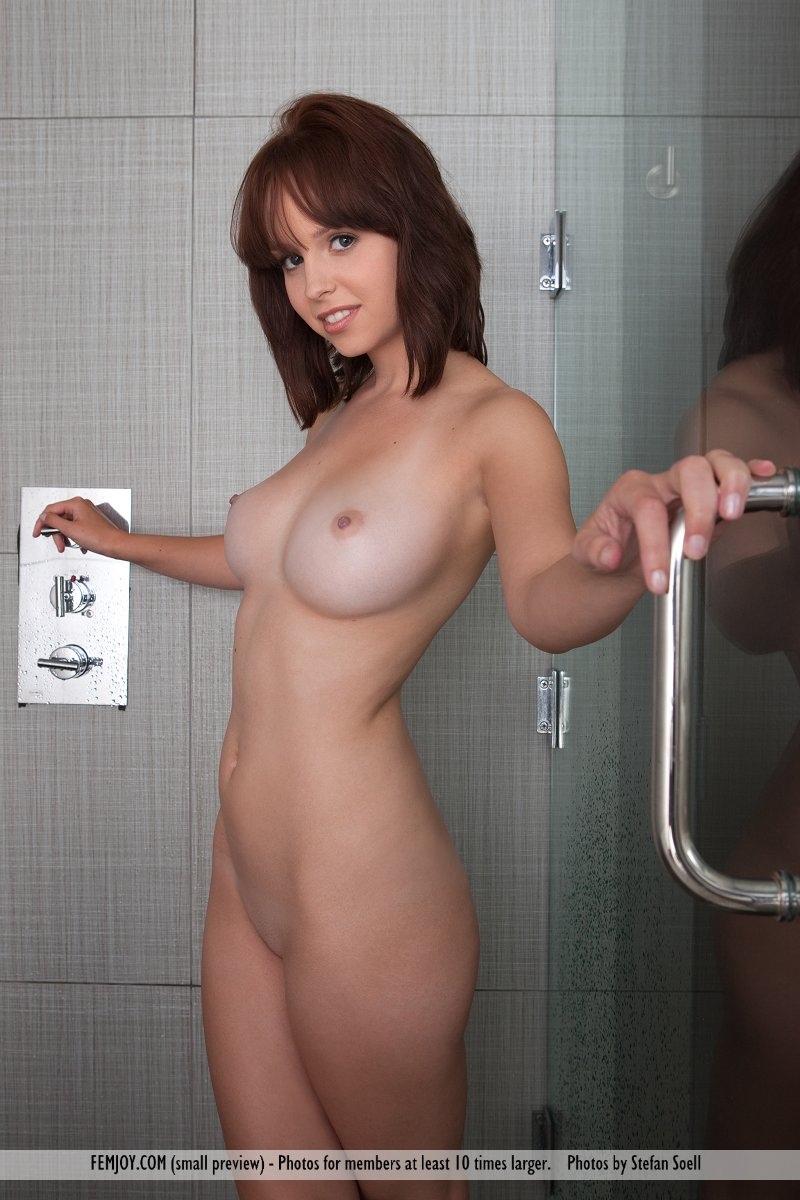 Big tits nipples full frontal naked shower r