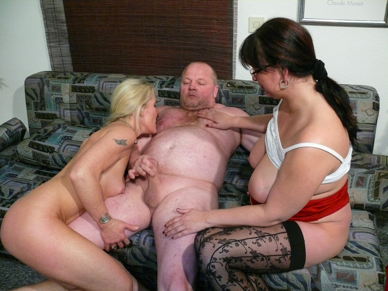wife lets hubby watch