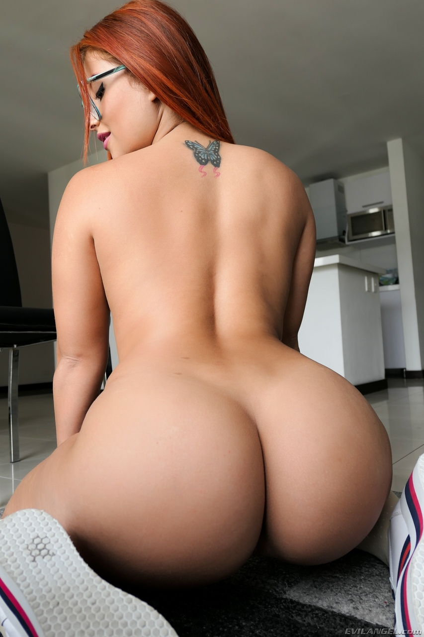 Charming big ass redhead pics for