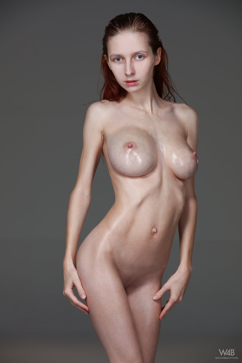 Impossible. Nude thin huge boobs can