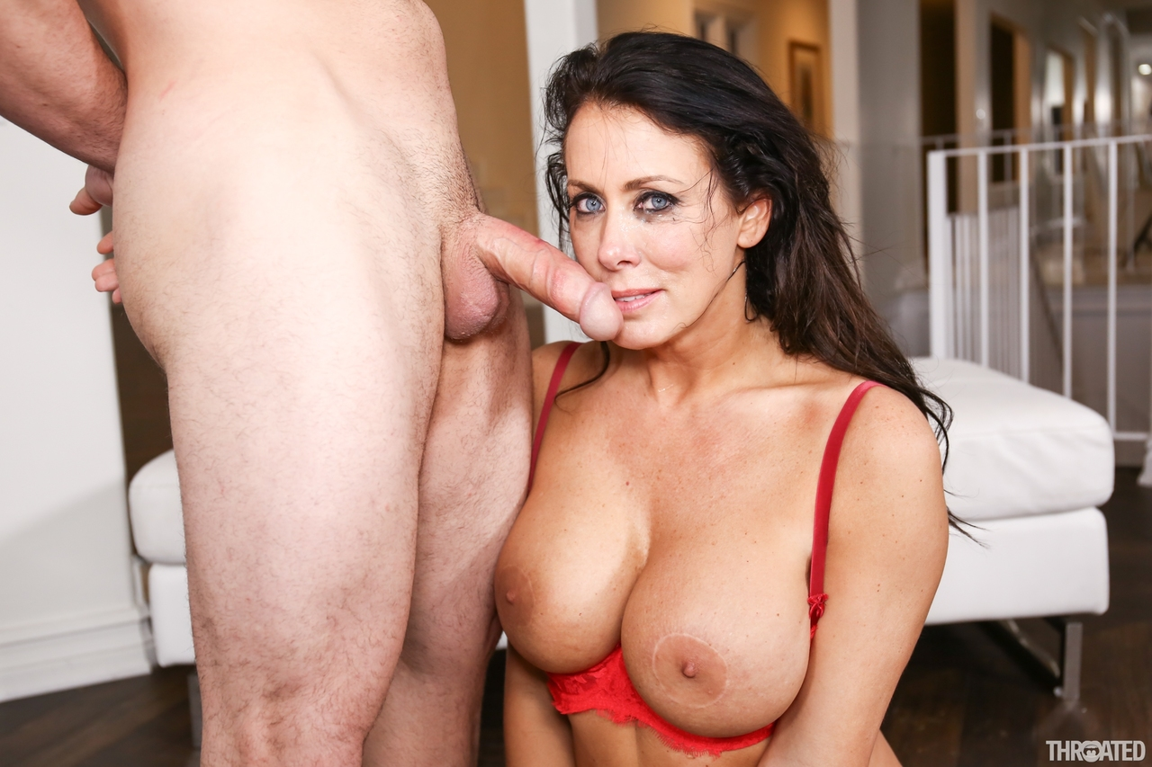 Milf Gives Teen Blowjob Lessons
