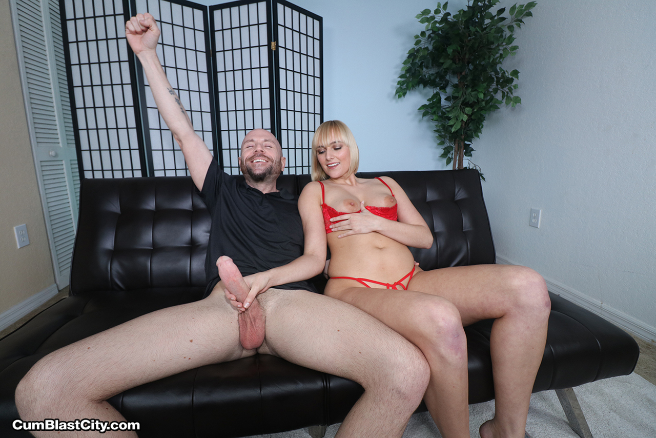 Hottie Kate England gives a big cock handjob during interview in red lingerie foto porno #320041335 | Cum Blast City, Kate England, Big Cock, Big Tits, Blonde, Handjob, Lingerie, Panties, porno ponsel