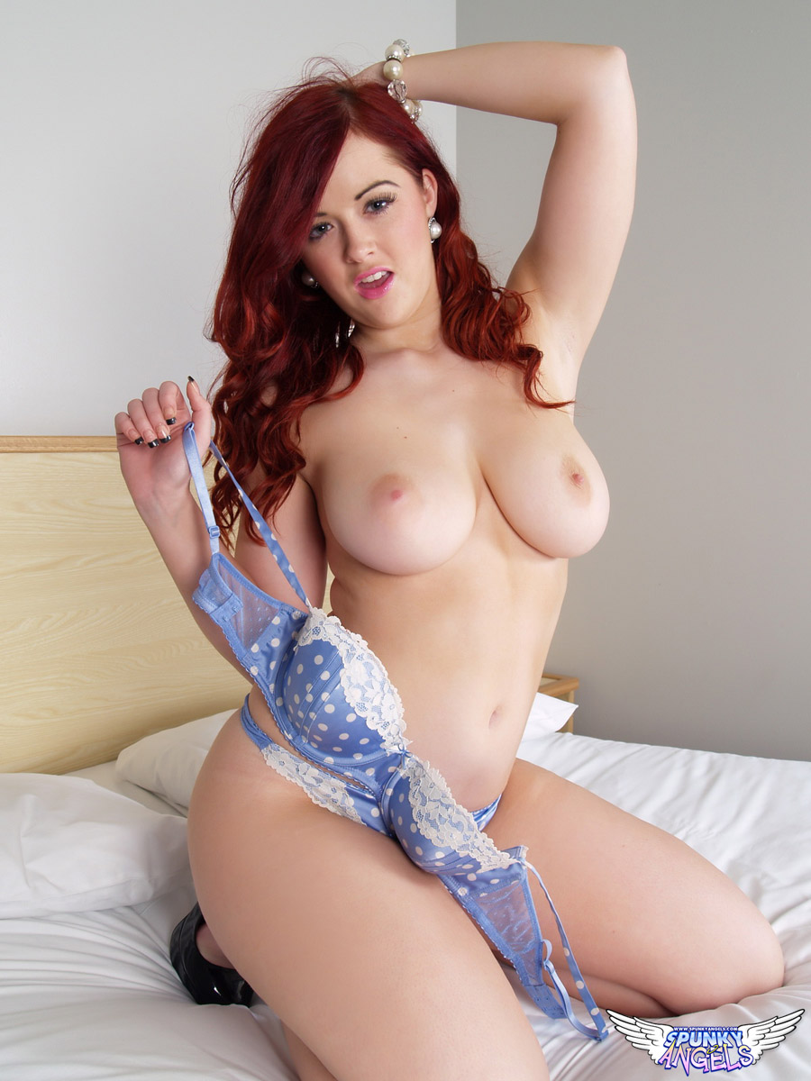 Redhead With Great Tits