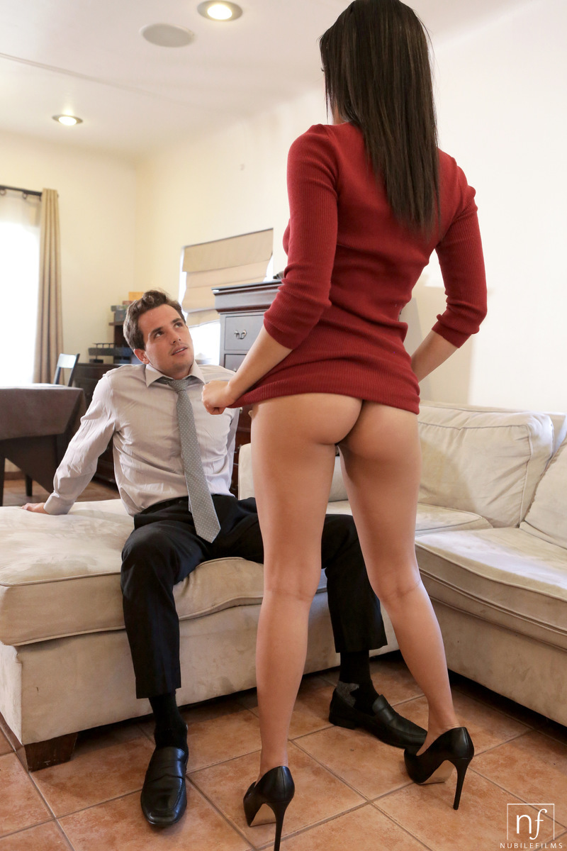Latina gf Maya Bijou bewitches her chap in a narrow costume and dim thong porn photo #324822240 | Nubile Films, Maya Bijou, Tyler Nixon, Ass, Ass Fucking, Big Tits, Blowjob, Brunette, Close Up, Clothed, Cowgirl, Cumshot, Facial, Girlfriend, Hardcore, High Heels, Kissing, Latina, Legs, Panties, Pussy, Pussy Licking, Reality, Skirt, Teen, Upskirt, mobile porn