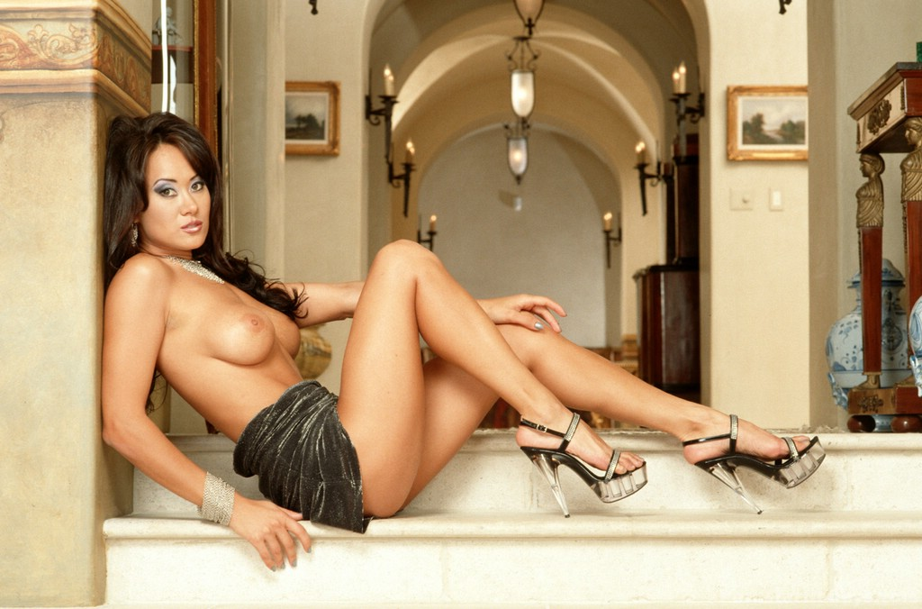 Where Asia carrera naked in high heels pic that