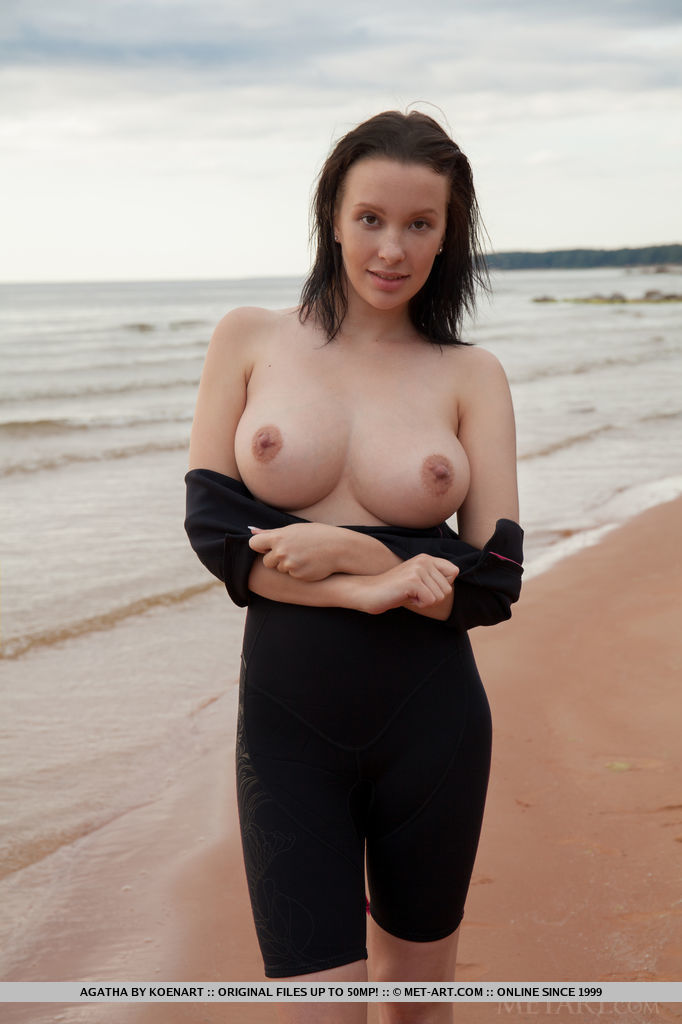 from Matthew girls in topless wetsuit