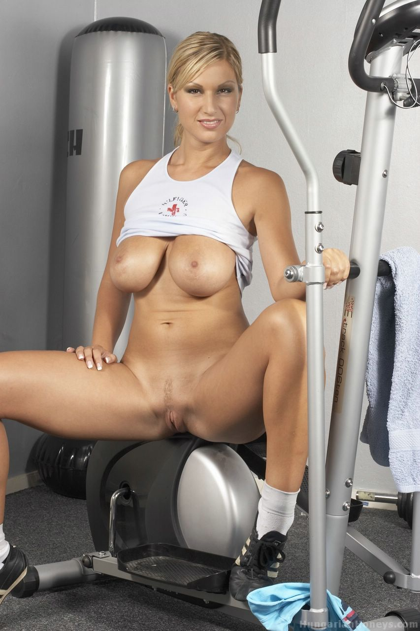 Pussy at the gym