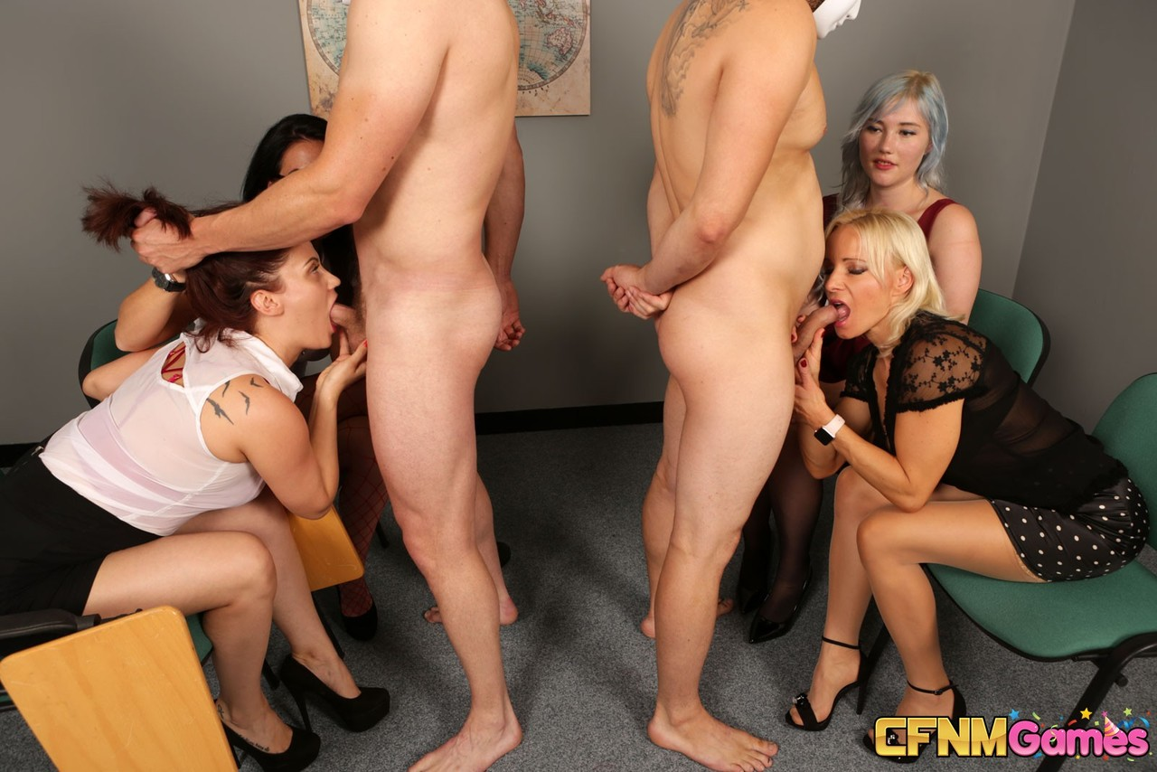 Group cfnm doggy style