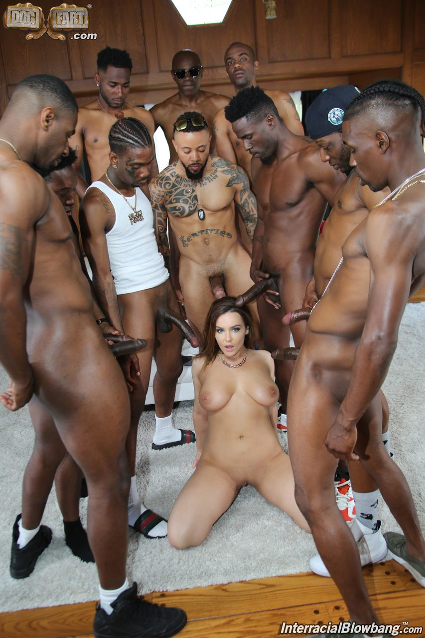White Men Gangbang Black Girl