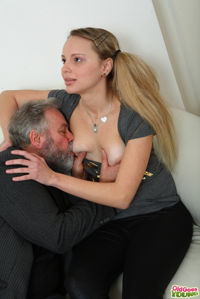 Old men fucking tiny nude blonds