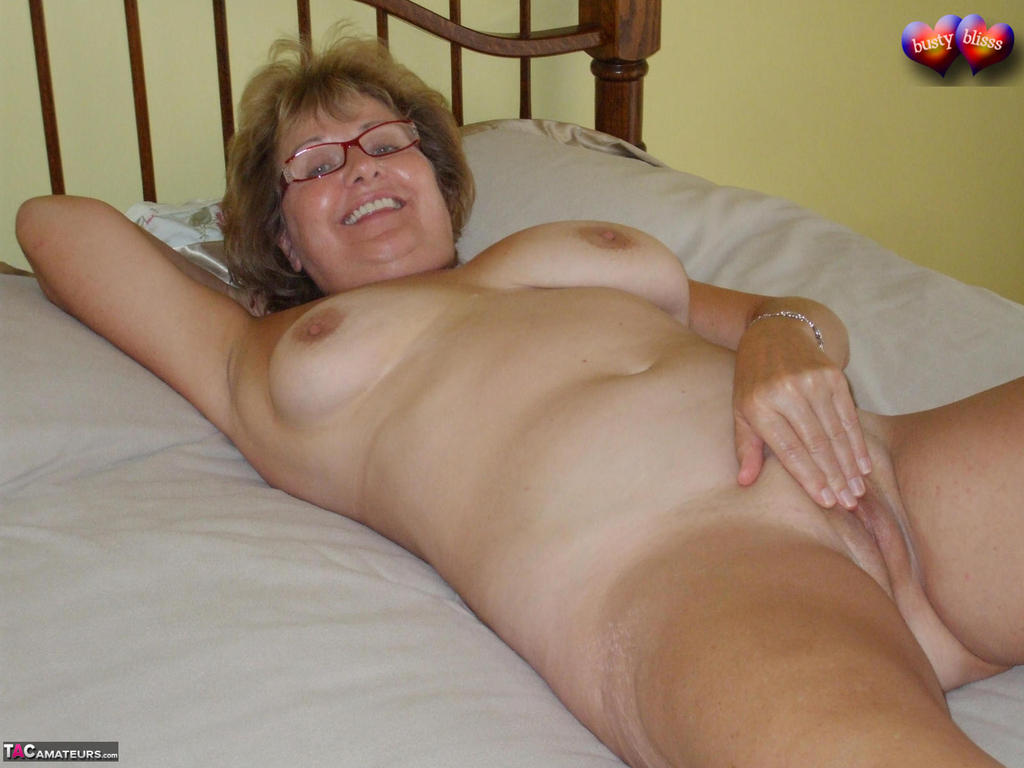 busty old lady nude
