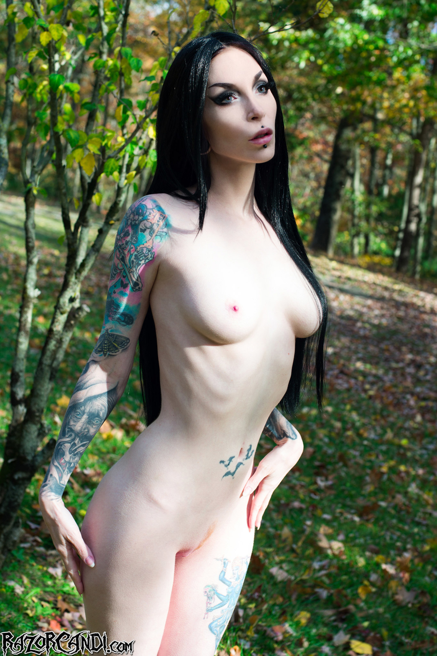 Amature Gothic Girls Naked