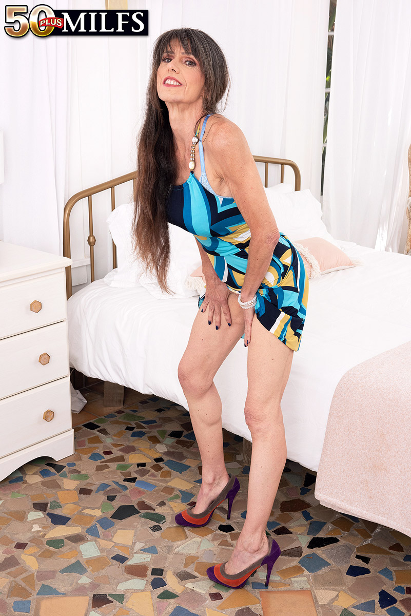 All Over 50 Nude Pics over 50 lady beth sinkati licks a nipple after uncupping her