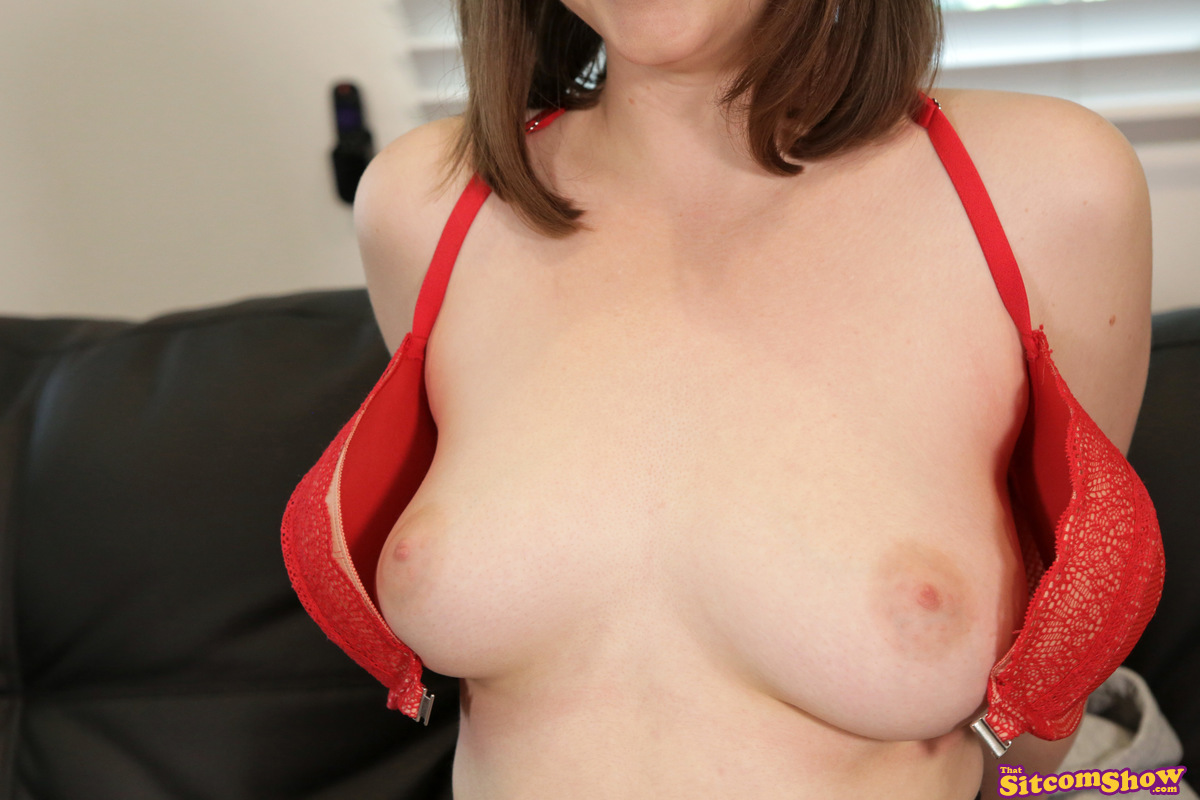 Nerdy girl Jay Taylor seduces her stepbro during the making of an XXX parody