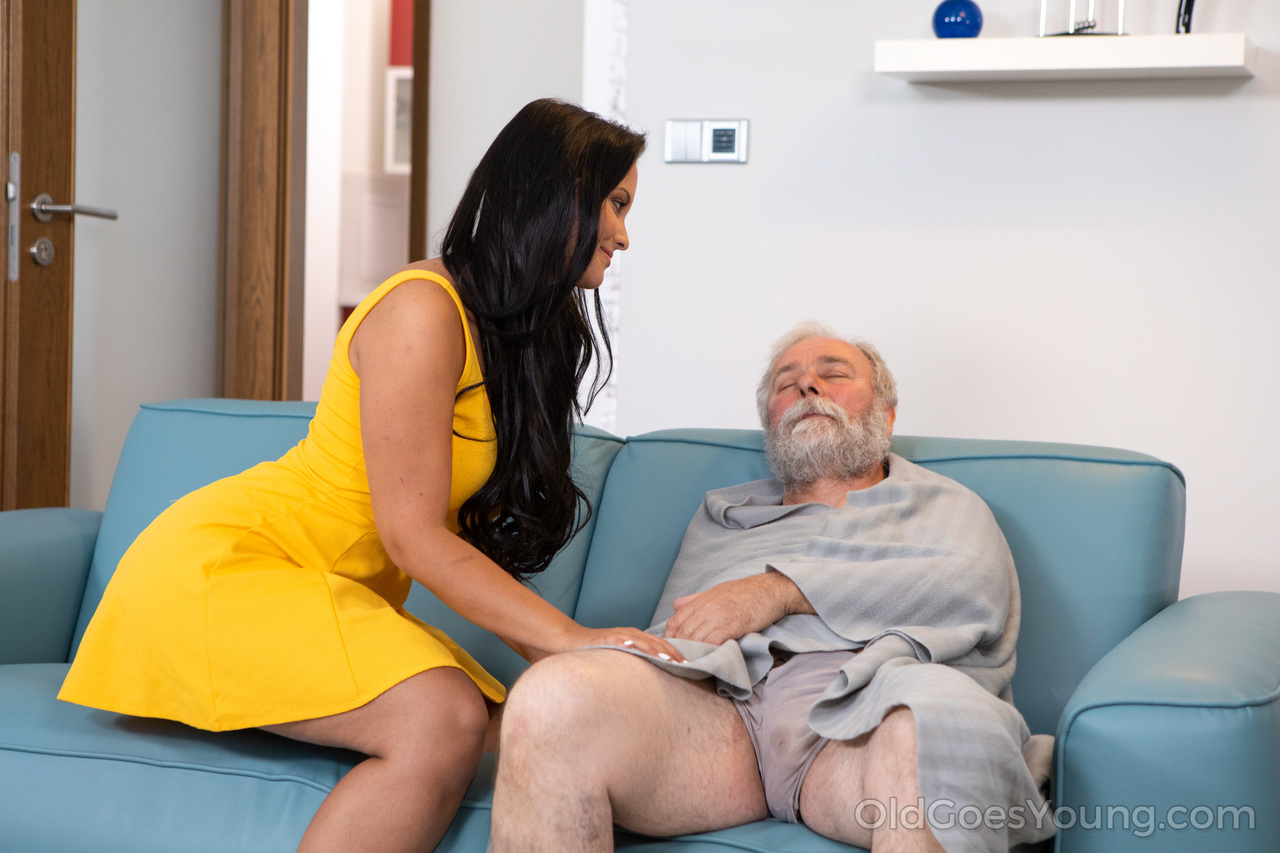 Teen First Anal Old Man